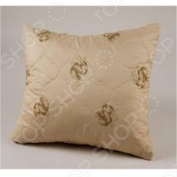 фото Подушка из верблюжей шерсти. Размер: 70х70 см, Классические подушки
