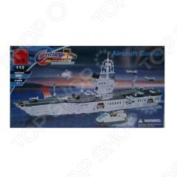 фото Конструктор Enlighten Р49103 Военный Корабль, Военная техника. Корабли