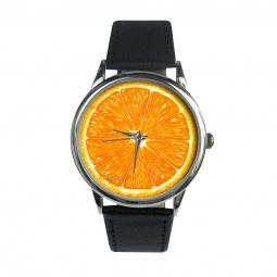"""Часы """"Апельсин"""", классический ремешок"""