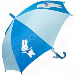 Зонт-трость полуавтомат детский Талисманы. Цвет: голубой