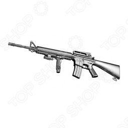 фото Автомат М16 пневматический Взвод М22044, Пневматическое оружие