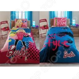 фото Комплект постельного белья TAC Barbie Love Style, Детские комплекты постельного белья