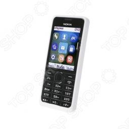 фото Мобильный телефон Nokia 301 Dual Sim White, Мобильные телефоны с 2-я sim-картами