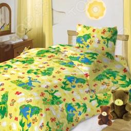 фото Комплект постельного белья Кошки-Мышки Дино, Детские комплекты постельного белья