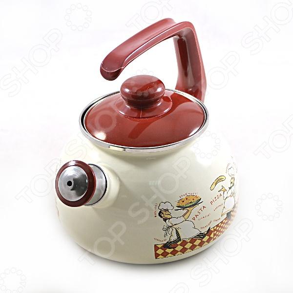 Чайник со свистком Метрот