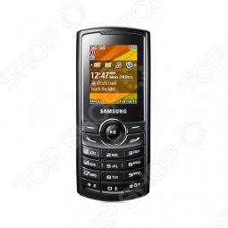 фото Мобильный телефон Samsung E2232 Black, Мобильные телефоны с 2-я sim-картами