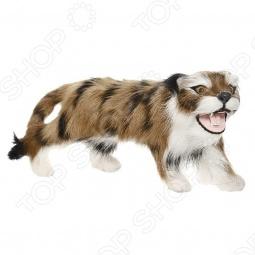 фото Сувенир из меха «Тигр с оскалом» T2040BRk, Чучела животных. Сувениры из меха