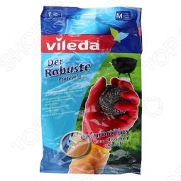 фото Перчатки особо прочные Vileda. Размер: M, Перчатки хозяйственные