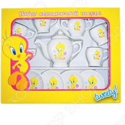 фото Набор посуды для детей Маруся Tweety 44535, Посуда для детей