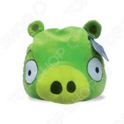 фото Подушка-игрушка декоративная Angry Birds Green Pig, Подушки детские