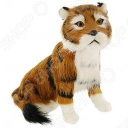 фото Сувенир из меха «Тигр сидячий» T2020Ck, Чучела животных. Сувениры из меха