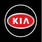 Купить Светодиодные проекторы логотипа автомобиля KIA 3D welcome light