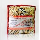 Купить Набор «Эко» 3 в 1: одеяло, подушка, комплект белья. 1,5-спальный