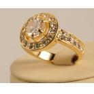 Купить Кольцо «Королева». Цвет: золото