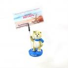 Купить Держатель для фото и визиток Талисман «Белый Мишка» «Sochi 2014»
