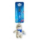 Купить Брелок с ленточкой Sochi 2014 «Белый Мишка» 18 см