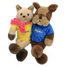 Купить Мягкая игрушка интерактивная «Киска и Дружок»