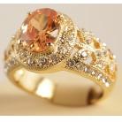 Купить Кольцо «Эмили». Цвет: золото