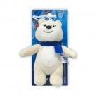 Купить Подвеска на присоске Sochi 2014 «Белый мишка с шарфом» 12 см