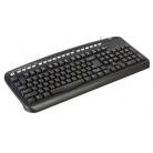 Купить Клавиатура Oklick 320M Black Mmedia PS/2+USB