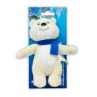 Купить Брелок Sochi 2014 «Белый мишка с шарфом»