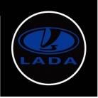 Купить Светодиодные проекторы логотипа автомобиля Auto Crystal LADA