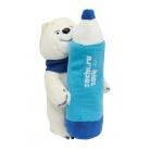 Купить Пенал из плюша Sochi 2014 «Белый Мишка» 23 см