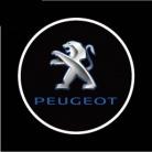 Купить Светодиодные проекторы логотипа автомобиля Ghost shadow light Peugeot