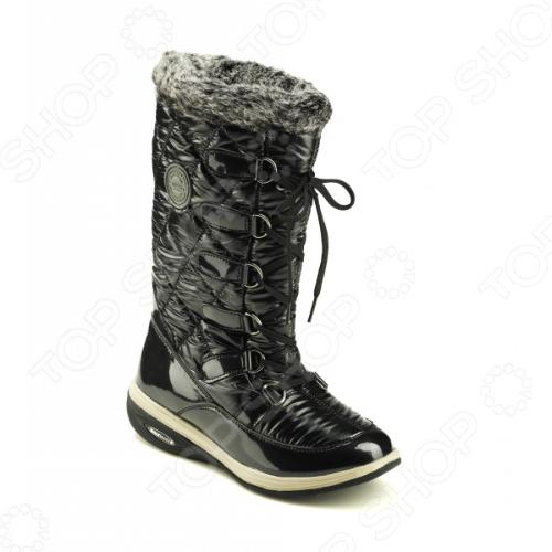 Сапоги зимние Walkmaxx Snow Boots. Цвет: черный 6