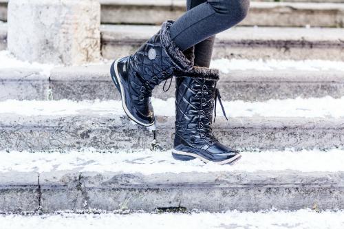 Сапоги зимние Walkmaxx Snow Boots. Цвет: черный 3