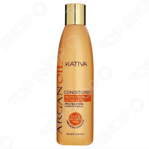 Кондиционер для волос увлажняющий с маслом Арганы Kativa