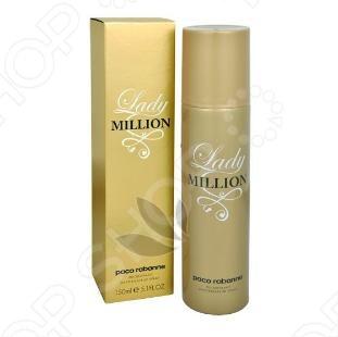 Дезодорант-спрей для женщин Paco Rabanne Lady Million