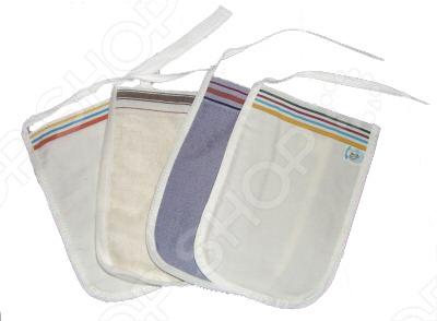 Мочалка-рукавичка Банные штучки КЕСЕ для пилинга и массажа. В ассортименте