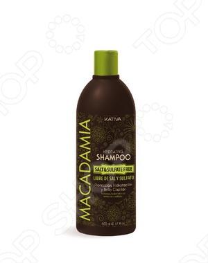 Шампунь увлажняющий для нормальных и поврежденных волос Kativa