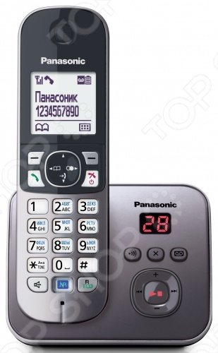 фото Радиотелефон Panasonic KX-TG6821, Стационарные телефоны