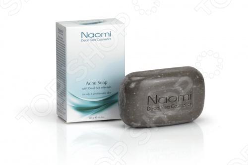 Мыло против акне Наоми с минералами Мертвого моря (Naomi)
