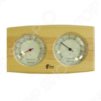 Термометр для бани и сауны Банные штучки с гигрометром