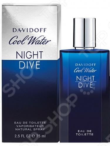 Туалетная вода для мужчин Davidoff Cool Water Night Dive