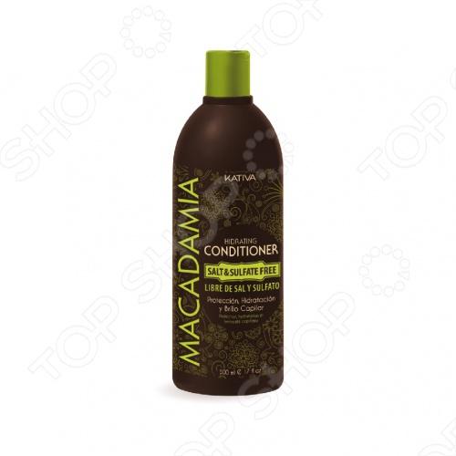 Кондиционер увлажняющий для нормальных и поврежденных волос Kativa