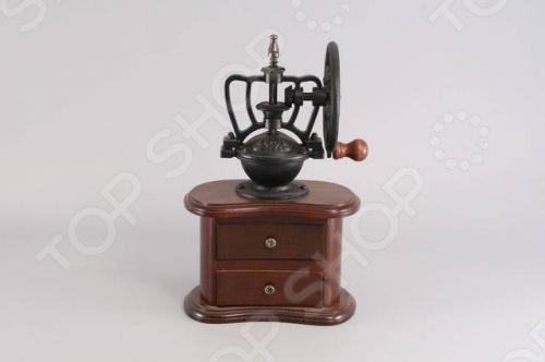 фото Кофемолка деревянная с колесом Gipfel 9212, Кофеварки. Кофемолки. Турки