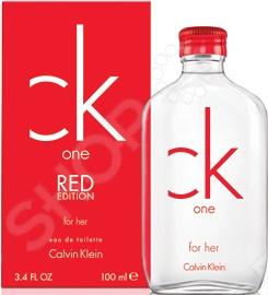 Туалетная вода для женщин Calvin Klein Ck One Shock For Her (red edition)