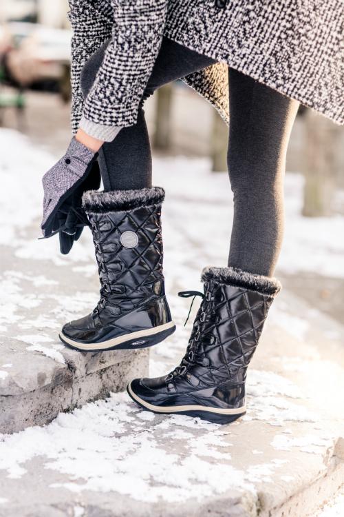 Сапоги зимние Walkmaxx Snow Boots. Цвет: черный 1