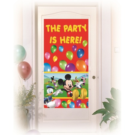 Купить Баннер на дверь Procos «Веселый Микки»