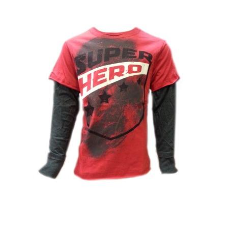 Купить Лонгслив Warrior Poet Super Hero T-Shirt