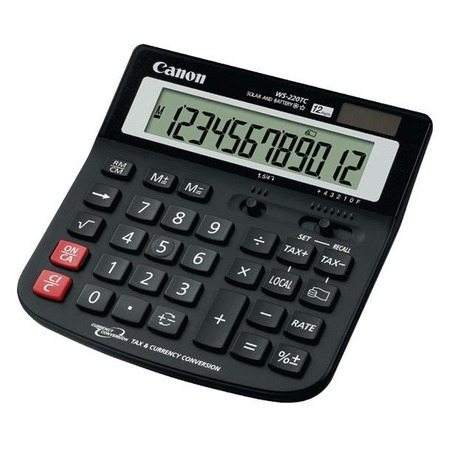 Купить Калькулятор Canon WS-220 TC