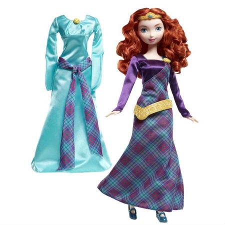 Купить Кукла Mattel «Мерида с платьем»