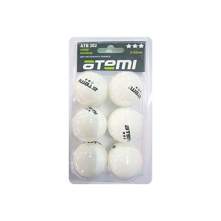 Купить Мячи для настольного тенниса ATEMI ATB302