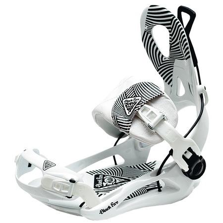 Купить Крепления сноубордические Black Fire BF FT Lux white (2013-14)