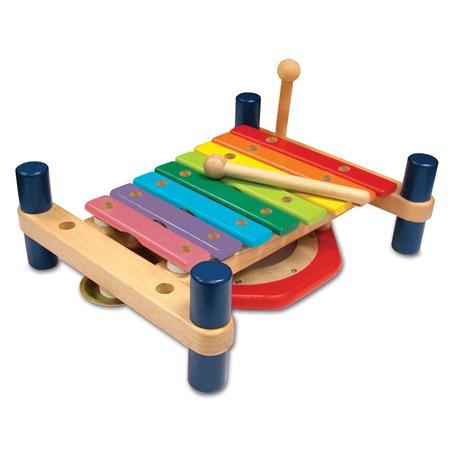 Купить Развивающий музыкальный набор I'm toy «ксилофон и барабан»