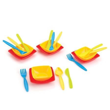 Купить Набор для обеда игрушечный Dolu 4111